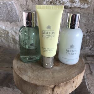 NEW Molton Brown London Beauty Set of 3